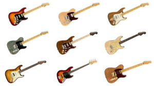 Fender Limited Edition Rare Wood Guitars Available Now!