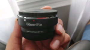 Sony - Canon Lens Adapter (Autofocus) Commlite - Priced to Sell!