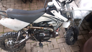 Automatic 110cc pitbike