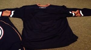 Edmonton Oilers NHL hockey reebok jersey size large brand new London Ontario image 4