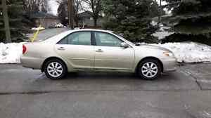 2003 Toyota Camry XLE 4 cylinder