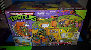 Turtle party wagon tmnt classique Collection