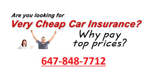 CHEAP INSURANCE / LOW MONTHLY PAYMENT (AUTO*HOME*MOTORCYCLE)