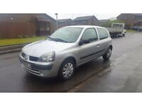 2005 55 Renault Clio.. 1.1 .. Full 12 months mot. Absolute bargain