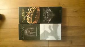 Game of thrones season 1, 2, 3 and 4 on blu ray