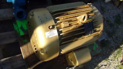 Baldor Em2333t 15hp 1765 Rpm 230460v Electric Motor 254t Frame - Excellent