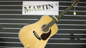 Martin Guitars at Blow Out Prices!
