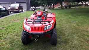 2008 arctic cat 650 with low kms