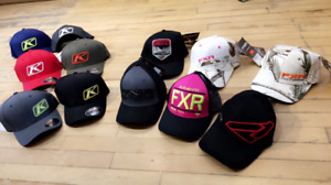FXR CAPS AND KLIM CAPS AT HALIFAX MOTORSPORTS!!!