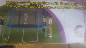 12ft trampoline enclosure