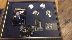 Framed memories of stage productions