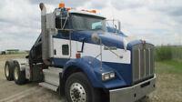 2009 Kenworth T800 with Hiab 175 Crane