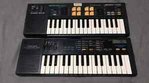 Casio SK-5 and SK-1 sampling keyboards