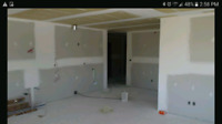 Drywall taping/mudding/plastering/stucco removal