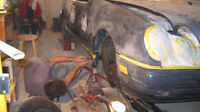 autobody and repair damage and painting