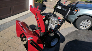 CRAFTSMAN SNOWBLOWER 27 IN 9.5 HP LIKE NEW!