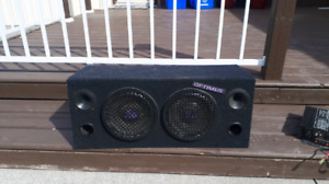 8 INCH SUBS AND BOX