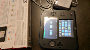 2DS w/ box and games