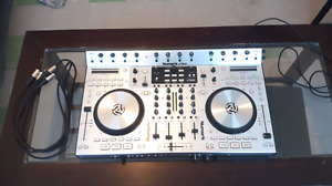 Numark 4Trak Dj Controller with xlr stereo cables.