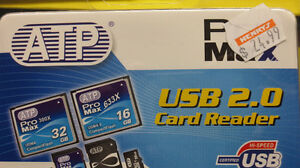 ATP, Pro Max USB 2.0 Card Reader (NEW!)