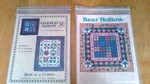 11 Traditional Quilt Patterns - all together as a lot for $5.00