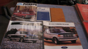 Collectible vintage truck books