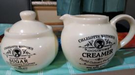 Creamer & Sugar Bowl