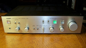 Yamaha A-550 integrated amplifier, CONSIDERING TRADES