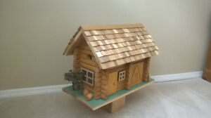 Custom Cedar Birdhouse