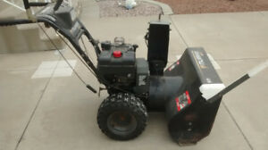 Excellent snow blower for sale. $500.00 OBO