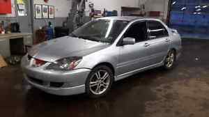PARTS OR REPAIR 2004 Mitsubishi Lancer Ralliart 2.4l 5 speed188k