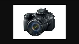 Canon 60D w/ 18-200mm Lens and battery grip