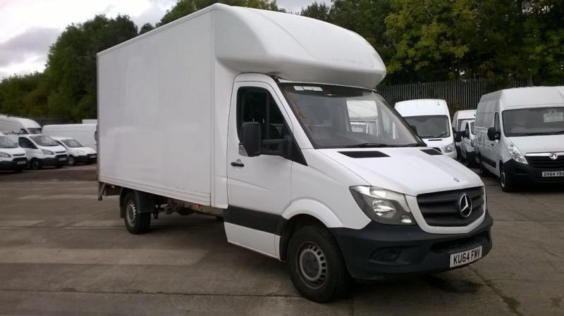 24c4ef2bed Mercedes-Benz Sprinter 313 CDI LWB 3.5t Luton With Tail Lift DIESEL WHITE ( 2014)