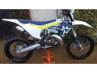Husqvarna tx 125 2017 road registered