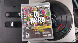 Dj Hero ps3 with turntable