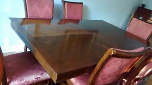 dining tables and 6 chairs
