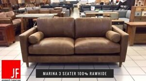 100% LEATHER LOUNGES Hamilton Brisbane North East Preview