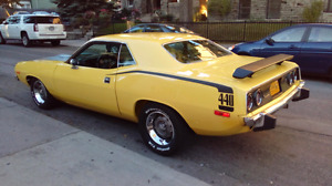 1974 Cuda  absolutely  gorgeous  $47.000 firm no kids please