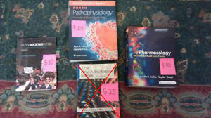 2nd year Nursing (BScN) Textbooks for GBC-Centennial-Ryerson.