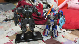 Transformers Optimus Prime & Megatron - The Last Knight Voyagers