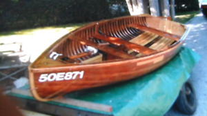 Peterborough Pal Dinghy with trailer