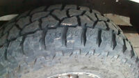 Like New Mickey Thompson Tires  (285/75/16)   **  with rims
