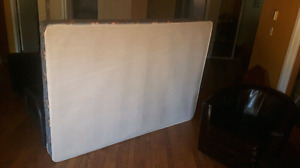 Double bed boxspring and futon frame for free