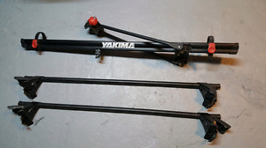 Support a Bicyclettes / Ski  - YAKIMA - bicycle / ski Roof rack