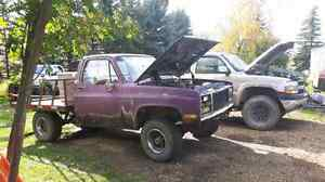 1986 chevy Silverado 4x4 short