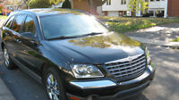 2005 Chrysler Pacifica. 4X4 =  CUIRE BEIGE SUV, VGM