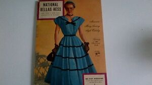 Vintage Spring Summer 1952 National Bellas Hess Catalog