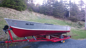 16 ft aluminum boat for sale