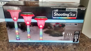 SOLD!!!!!Led lights shooting star pathway markers