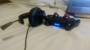 Trade modded controller + turtle beach
